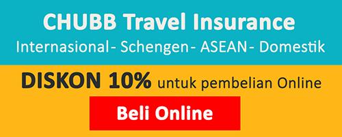 Asuransi Travel Online Chubb